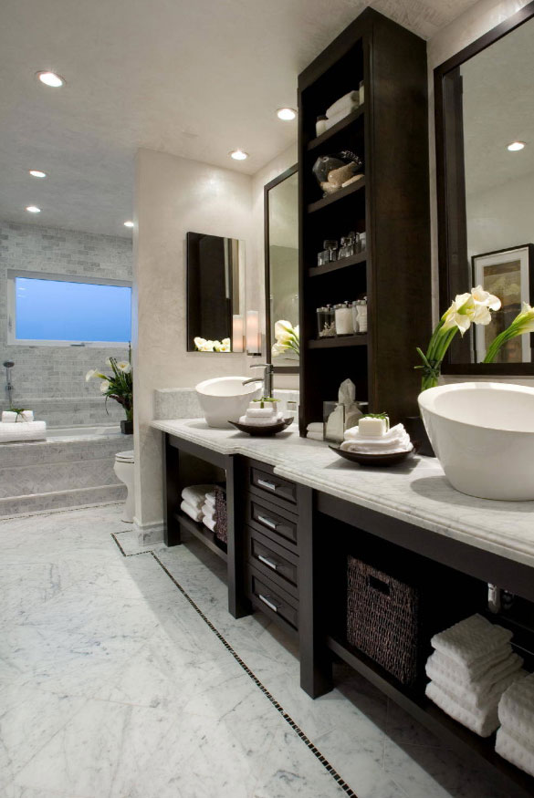 Enjoyable 33 Custom Bathrooms To Inspire Your Own Bath Remodel Home Beutiful Home Inspiration Semekurdistantinfo