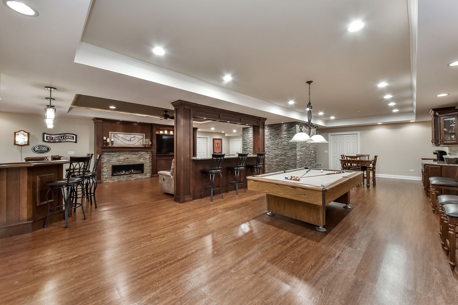 Bolingbrook Basement Finish Project - Sebring Services