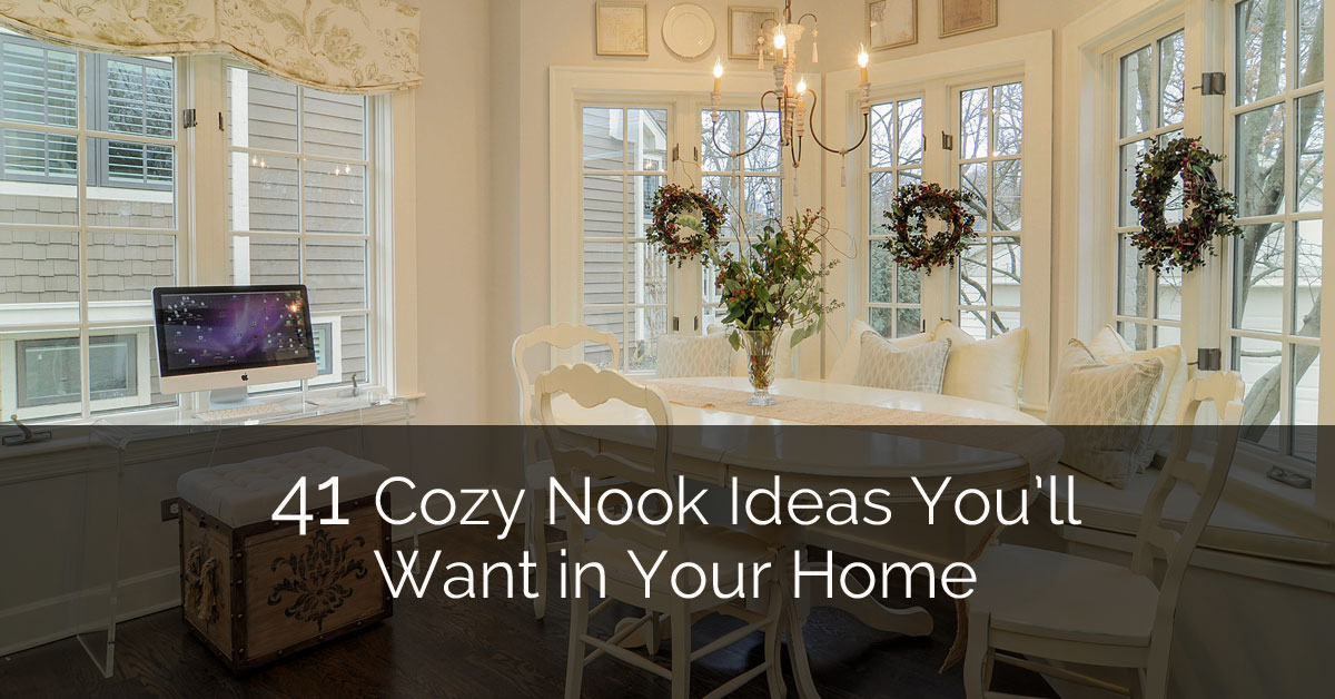 41 Cozy Nook Ideas Youu0027ll Want in