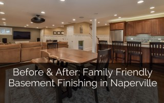 Before & After: A Family-Friendly Basement Remodel - Sebring Services