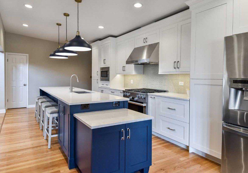kitchen island wheaton sebring design build