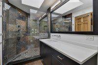 Lisle Master Bathroom Remodel - Sebring Services