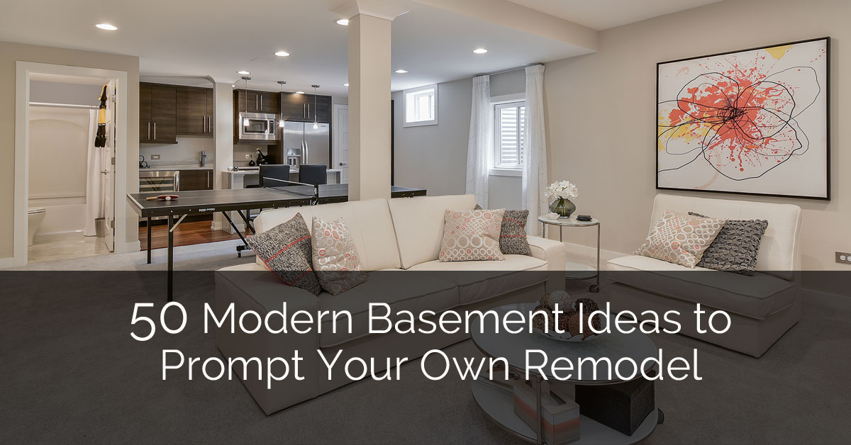 50 Modern Basement Ideas To Prompt Your Own Remodel | Home Remodeling  Contractors | Sebring Design Build