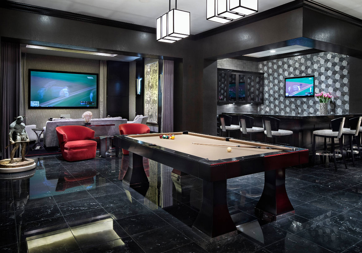 Games For Basement 50 Modern Basement Ideas To Prompt Your Own Remodel  Home