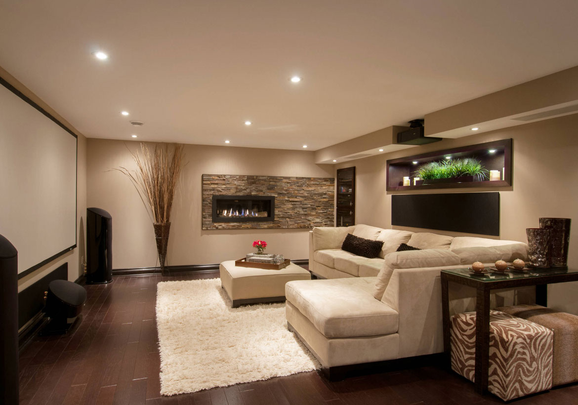 72 Really Cool Modern Basement Ideas Home Remodeling Contractors Sebring Design Build