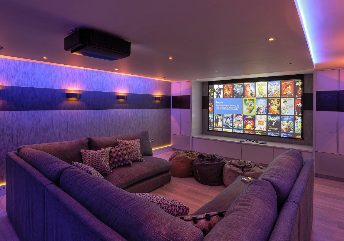 FAMILY ROOM. Modern Basement Ideas To Prompt Your Own Remodel   Sebring  Services