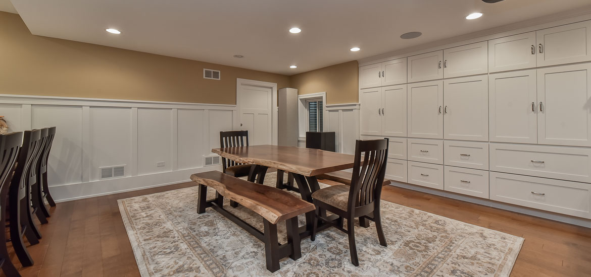 Before After Family Friendly Basement Finishing In Naperville Impressive Basement Remodeling Naperville Il