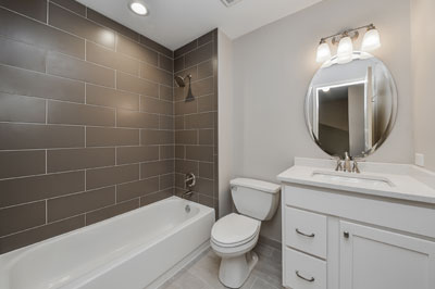 Charles Amp Cindy S Hall Bathroom Remodel Pictures Home Remodeling Contractors Sebring Services