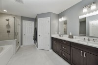 Plainfield Master Bathroom Remodel - Sebring Services