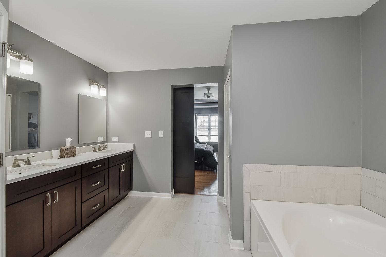 Plainfield Master Bathroom Remodel - Sebring Services