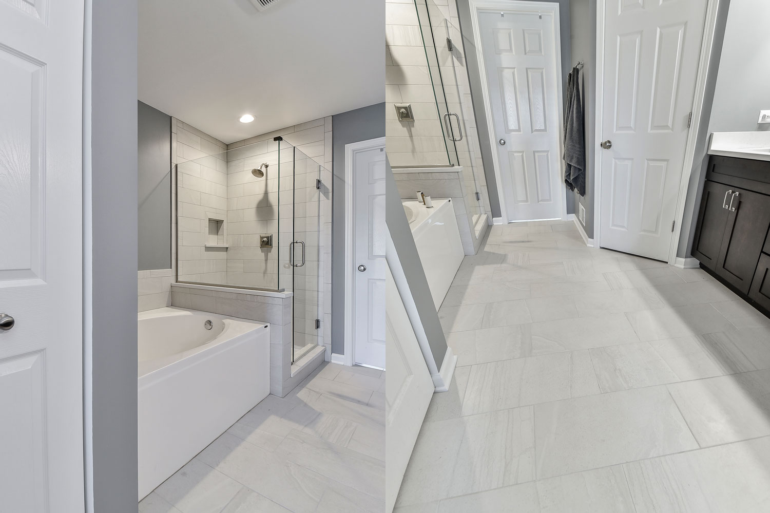 Pete mary 39 s master bathroom remodel pictures home for Master bath remodel 2017