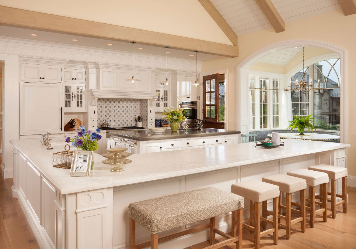 70 Spectacular Custom Kitchen Island Ideas | Home Remodeling ...
