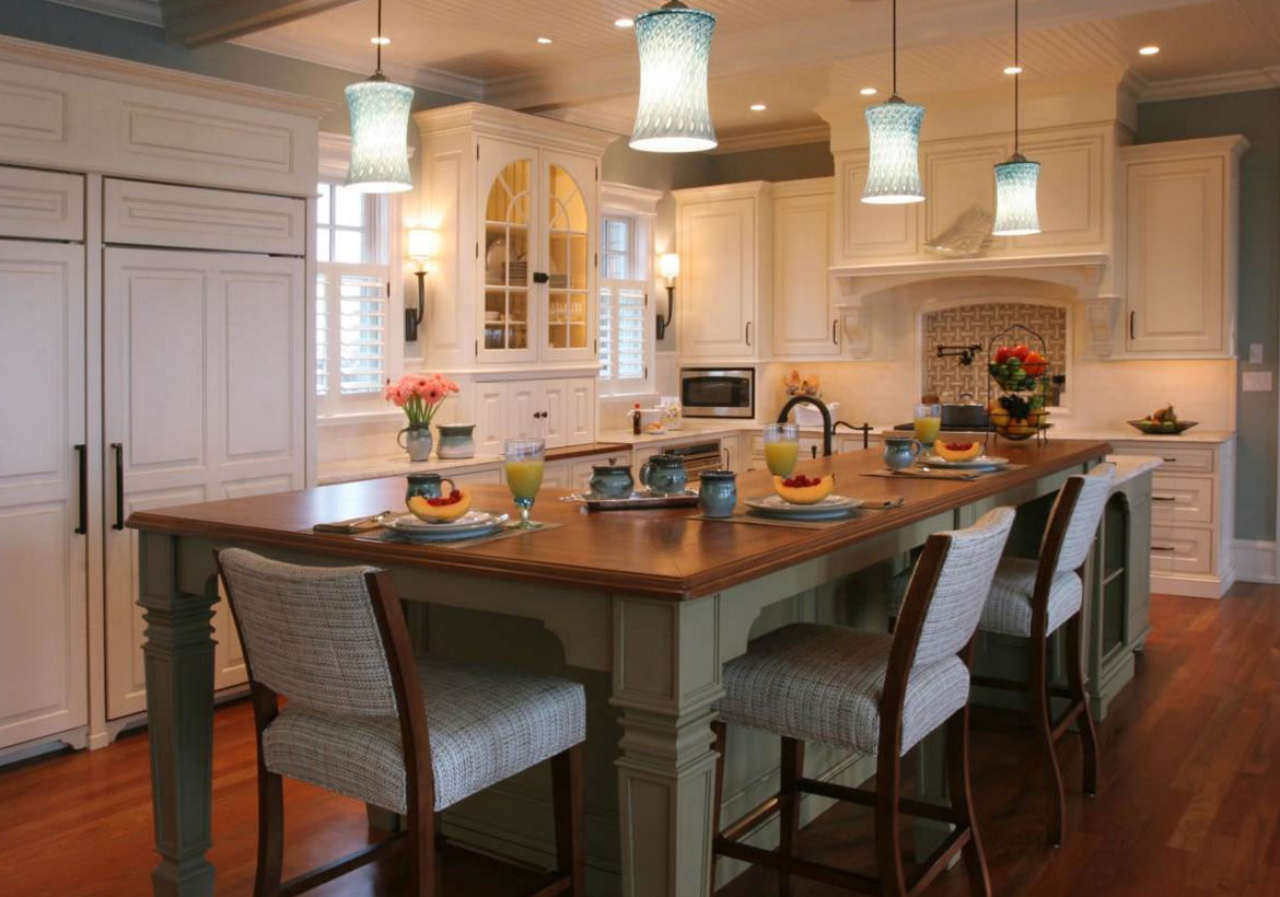70 spectacular custom kitchen island ideas home for Custom kitchen islands