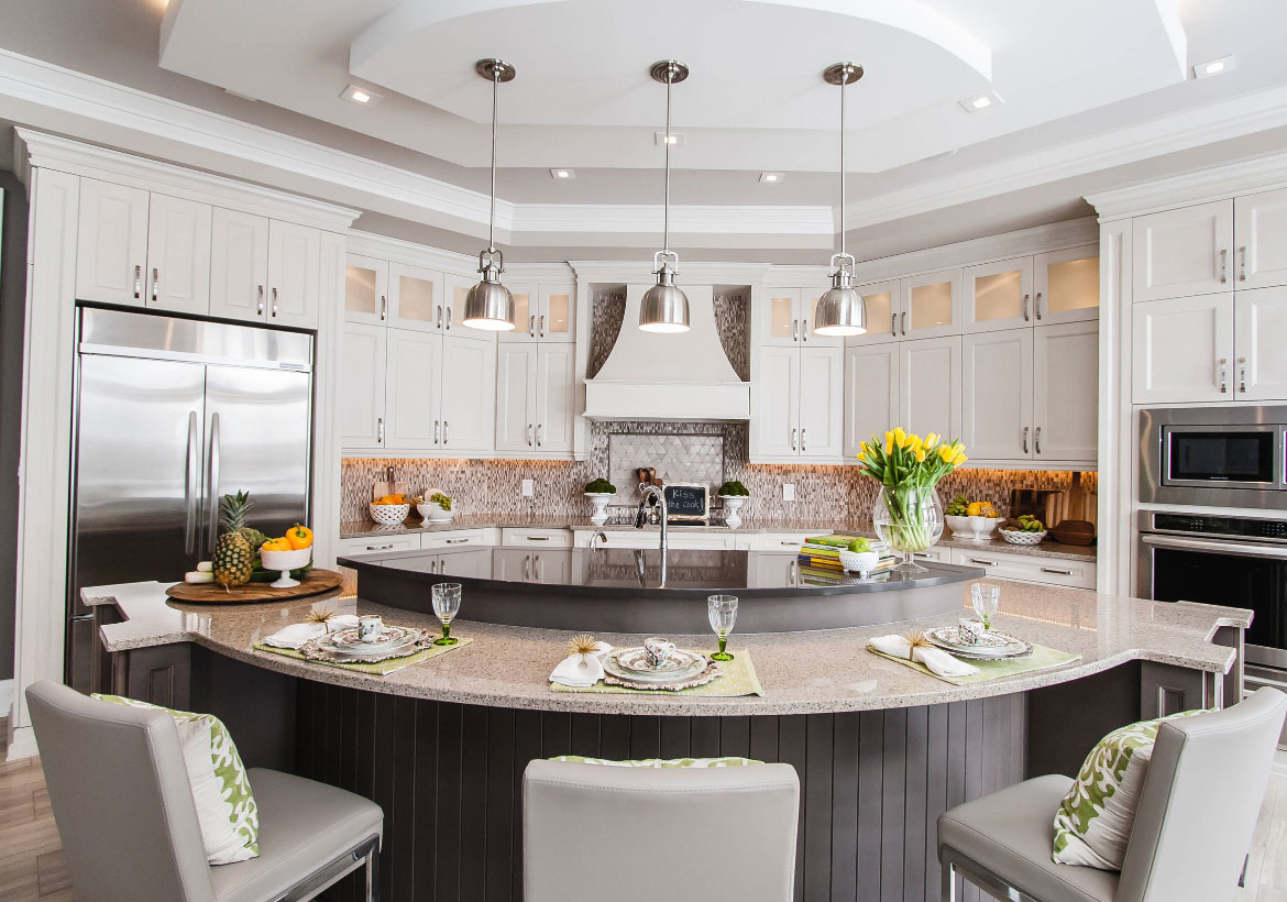 70 spectacular custom kitchen island ideas home for Houzz interior design ideas