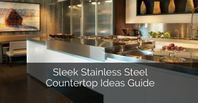 Sleek Stainless Steel Countertop Ideas & Quick Guide - Sebring Services