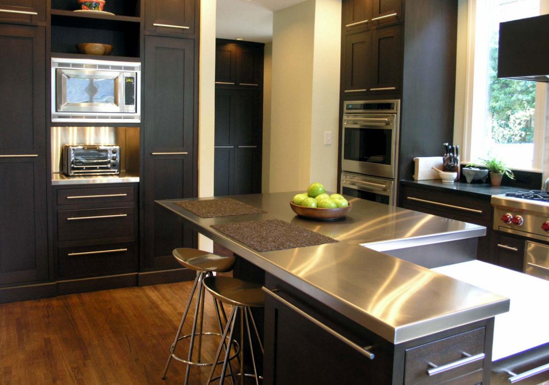 Sleek Stainless Steel Countertop Ideas