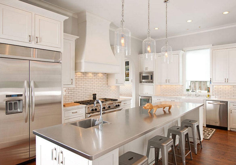 Sleek Stainless Steel Countertop Ideas Guide Home Remodeling Contractors Sebring Design Build