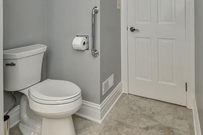 Warrenville Powder Room Remodel - Sebring Services