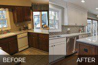 Naperville Kitchen Before & After - Sebring Services