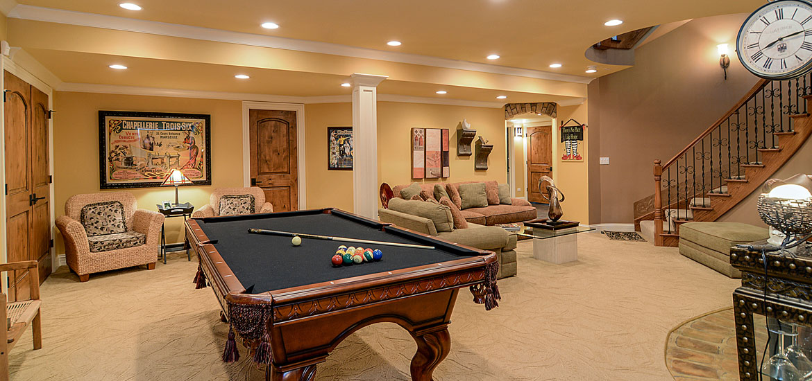 Gaming and Pool Table Room Sizes Home Remodeling Contractors