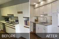 Kitchen Remodel Willowbrook Before & After Pictures - Sebring Services