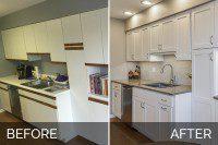 Kitchen Remodel Willowbrook Before & After Pictures - Sebring Services