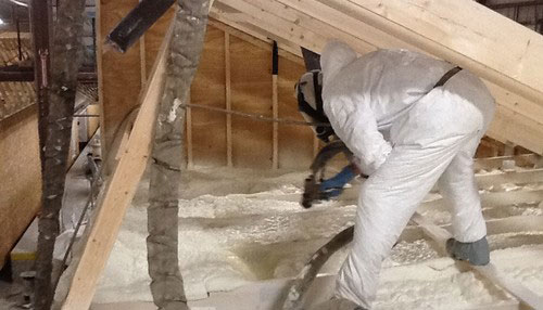 Spray foam vs fiberglass insulation options guide home for 6 fiberglass insulation r value