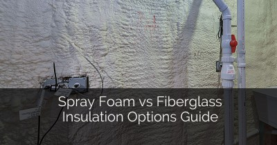 Spray Foam vs Fiberglass Insulation Options Guide