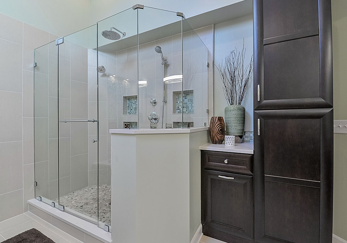 Exciting walk in shower ideas for your next bathroom remodel home remodeling contractors Small bathroom remodel designs