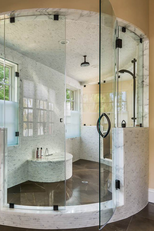 Exciting walk in shower ideas for your next bathroom for Bathroom remodel 101