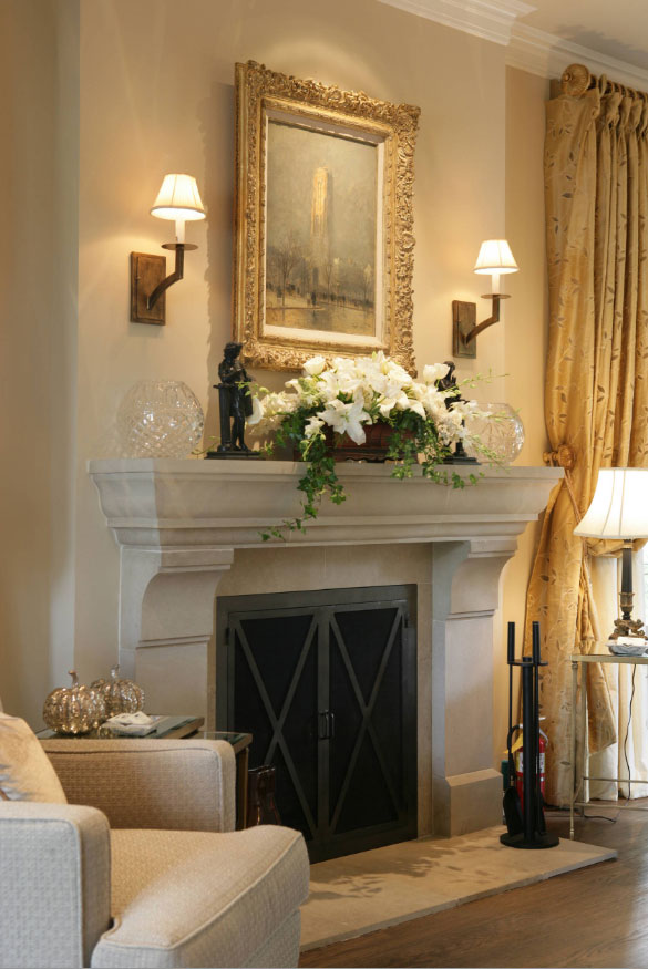 Mantel Ideas for a Warm & Cozy Fireplace