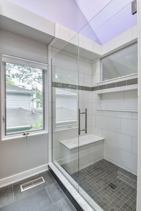 Shower sizes your guide to designing the perfect shower for Built in tub dimensions