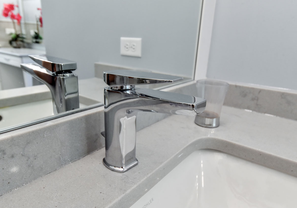 Brushed Nickel Bathroom Faucet by Hudson Reed Kubix$199.95Hudson ReedFree shipping, no tax