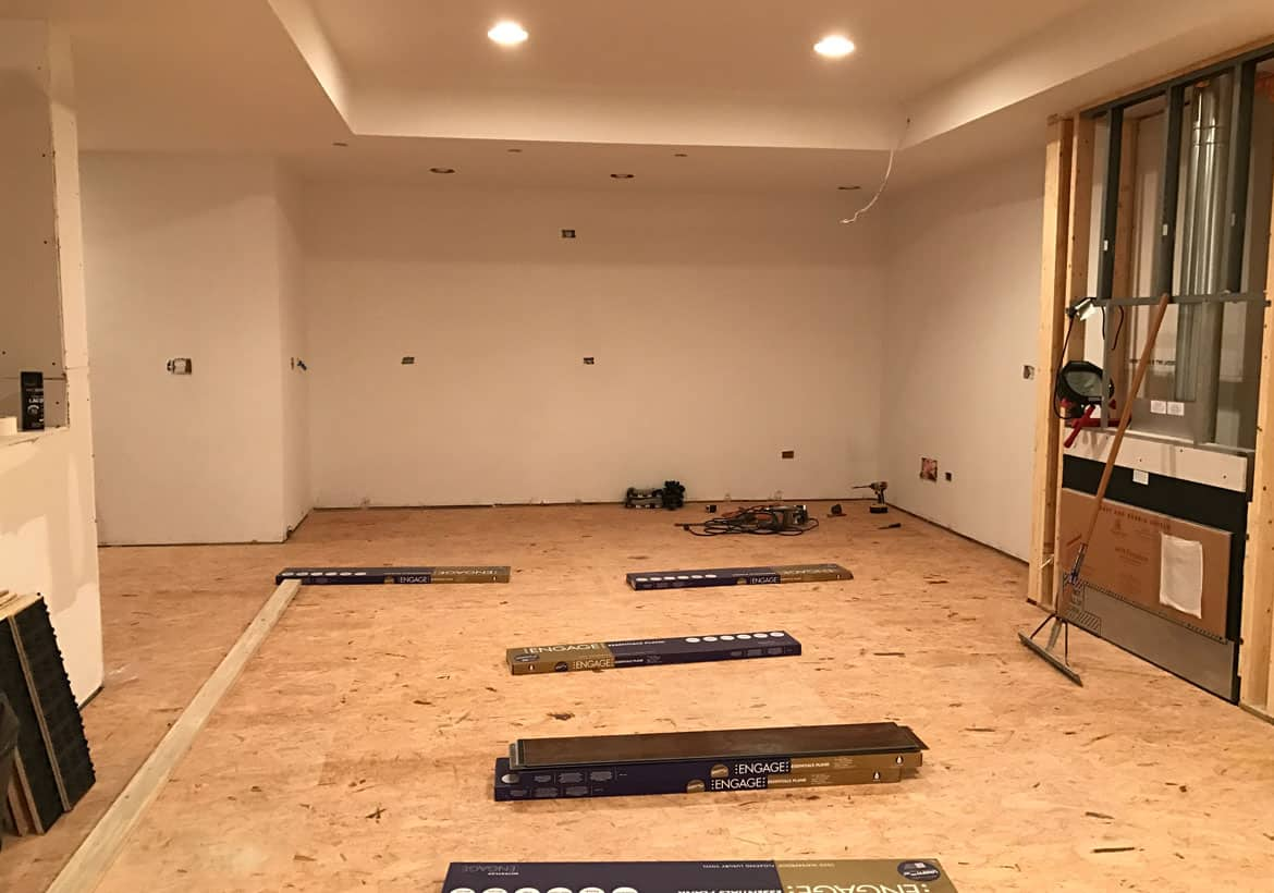 Basement Subfloor Options Dricore Versus Plywood Home Remodeling Contractors Sebring Design Build