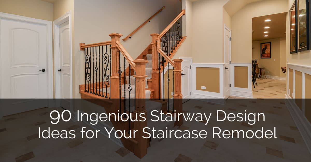 90 Ingenious Stairway Design Ideas For Your Staircase Remodel Home Remodeling Contractors Sebring Build