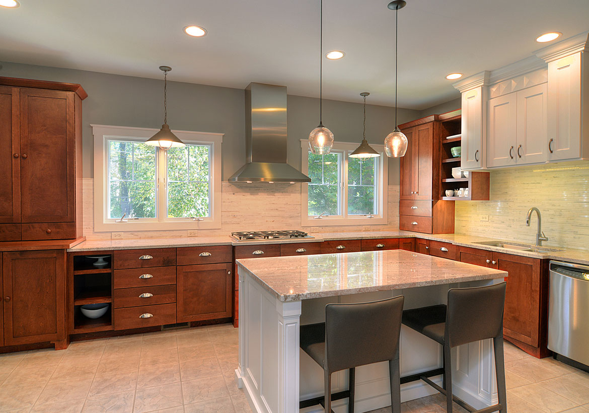 Transitional kitchen designs you will absolutely love for New build kitchen designs