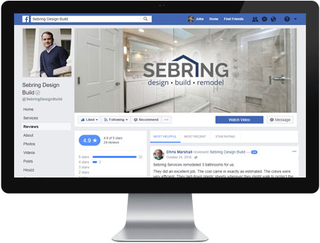 Facebook Reviews - Sebring Design Build
