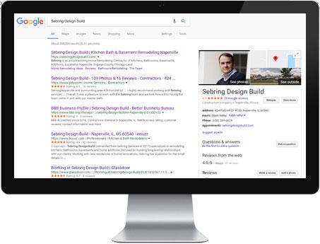 Google Reviews - Sebring Design Build