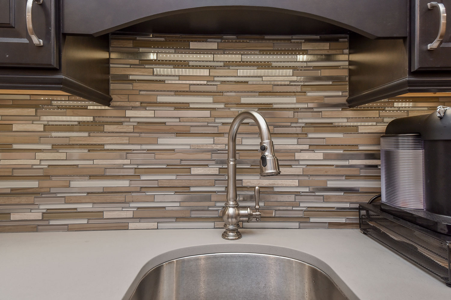Downers Grove Basement Remodel with Sauna, Steam Shower, Office - Sebring Design Build