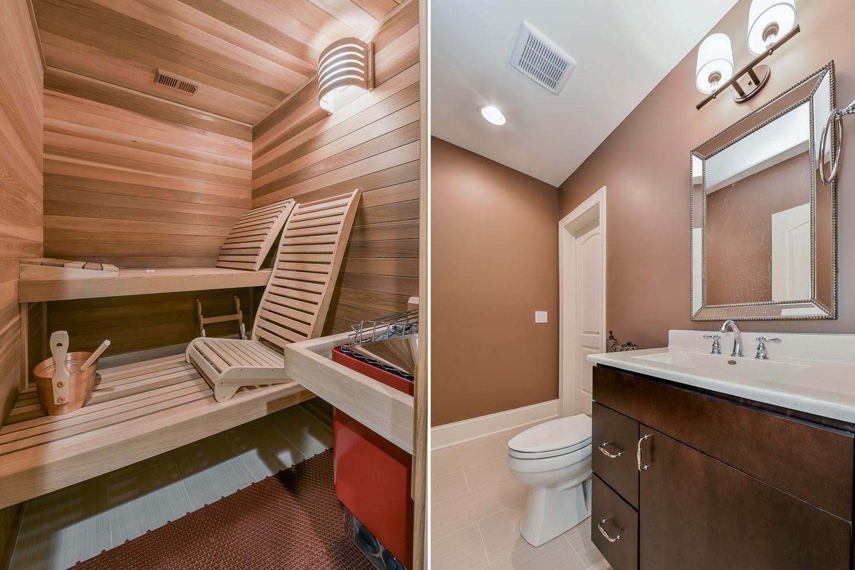 Dennis Adelinas Basement Bathroom Pictures Home Remodeling - Building a basement bathroom