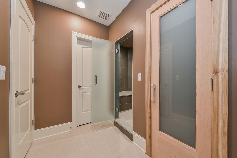 Downers Grove Basement Bathroom Remodel with Sauna, Steam Shower - Sebring Design Build