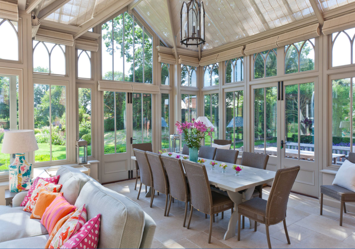Choosing the perfect glass features for your home home for Victorian sunroom designs
