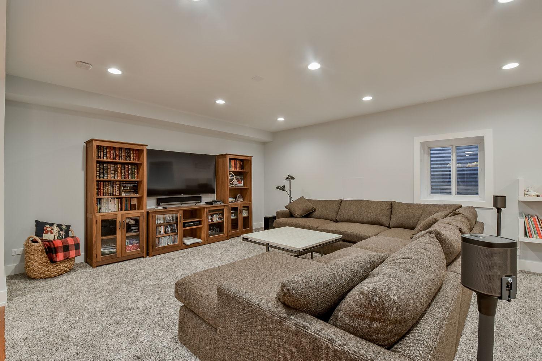 Stephan Amp Leslie S Basement Remodel Pictures Home