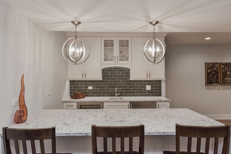 Elmhurst basement remodeling project pictures - Sebring Design Build