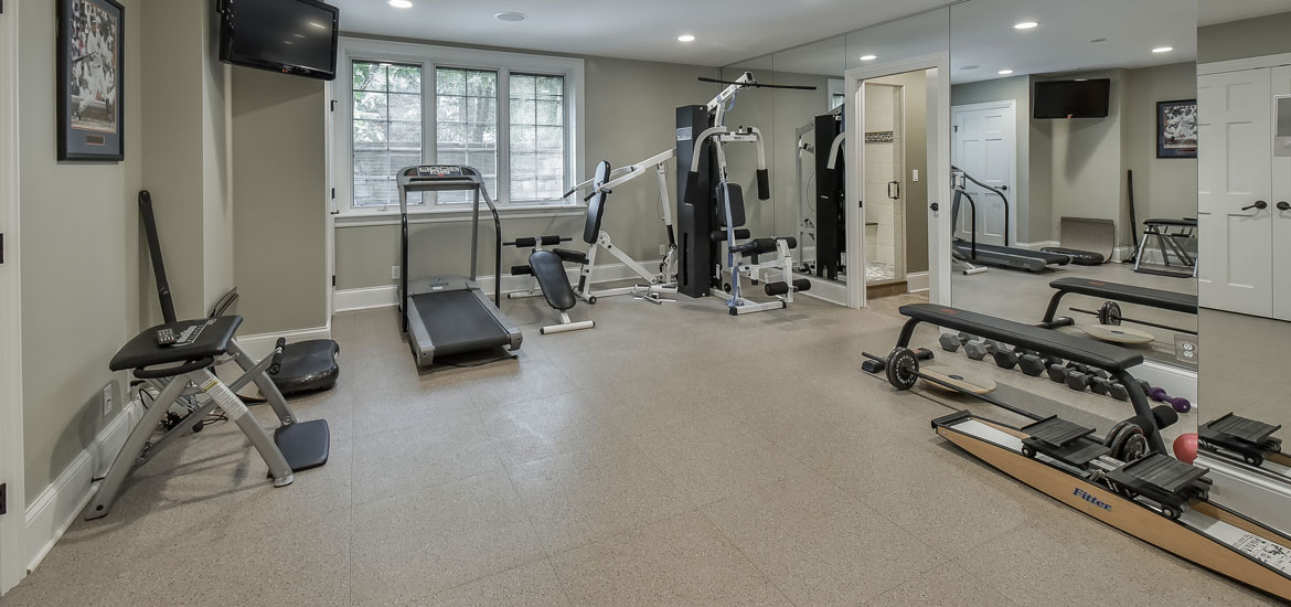 Charming 47 Extraordinary Home Gym Design Ideas