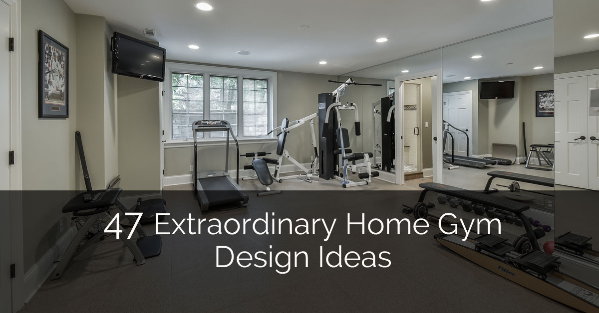 Home Design Ideas Com: 47 Extraordinary Basement Home Gym Design Ideas