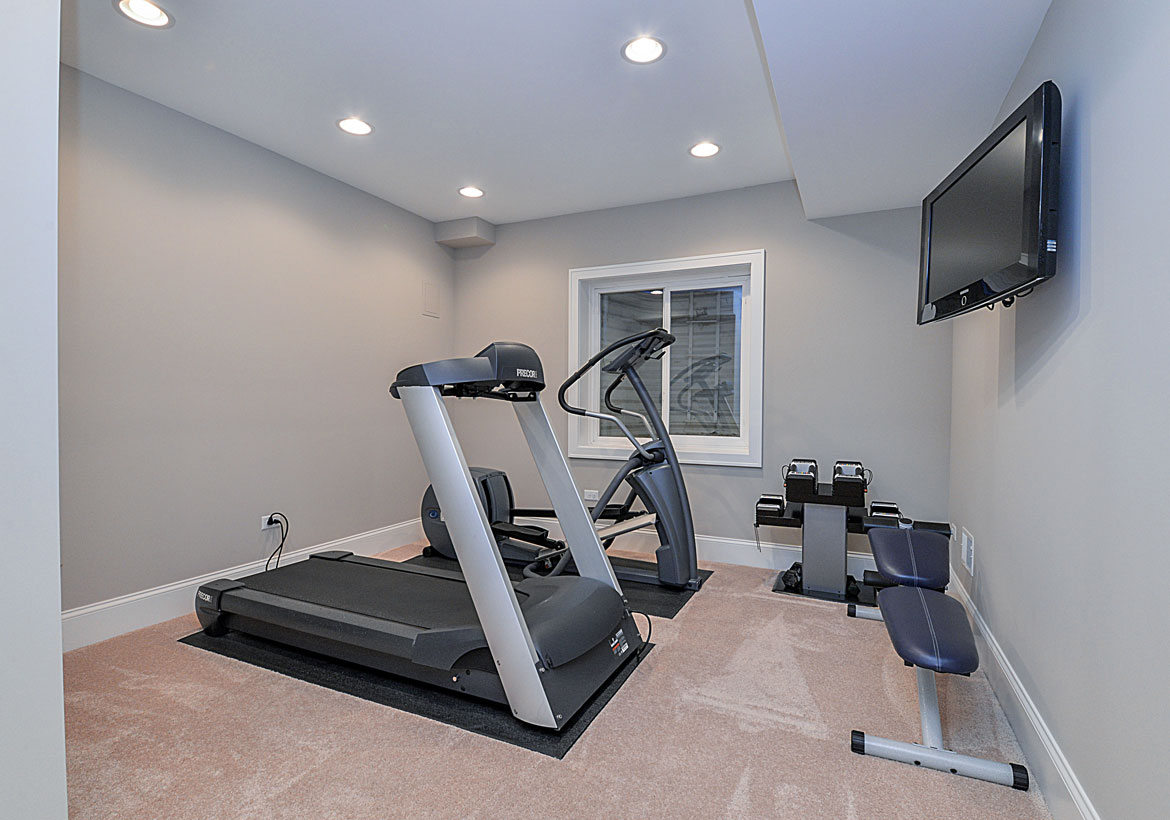 Extraordinary Home Gym Design Ideas - Sebring Design Build