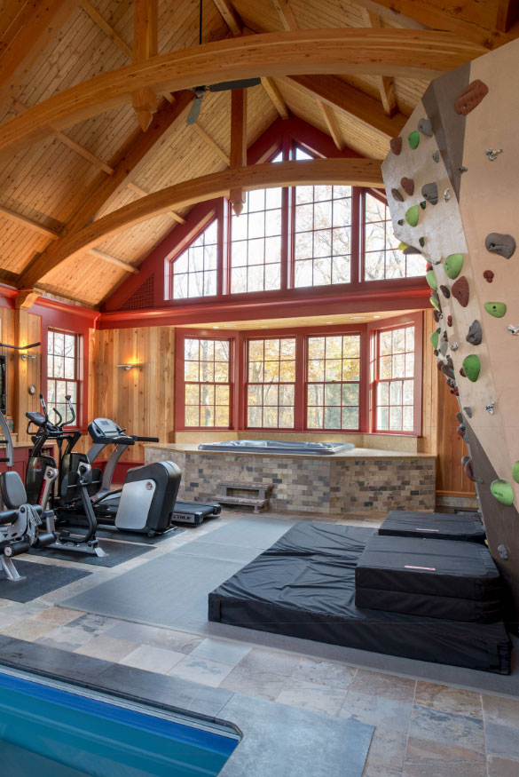 47 Extraordinary Basement Home Gym Design Ideas