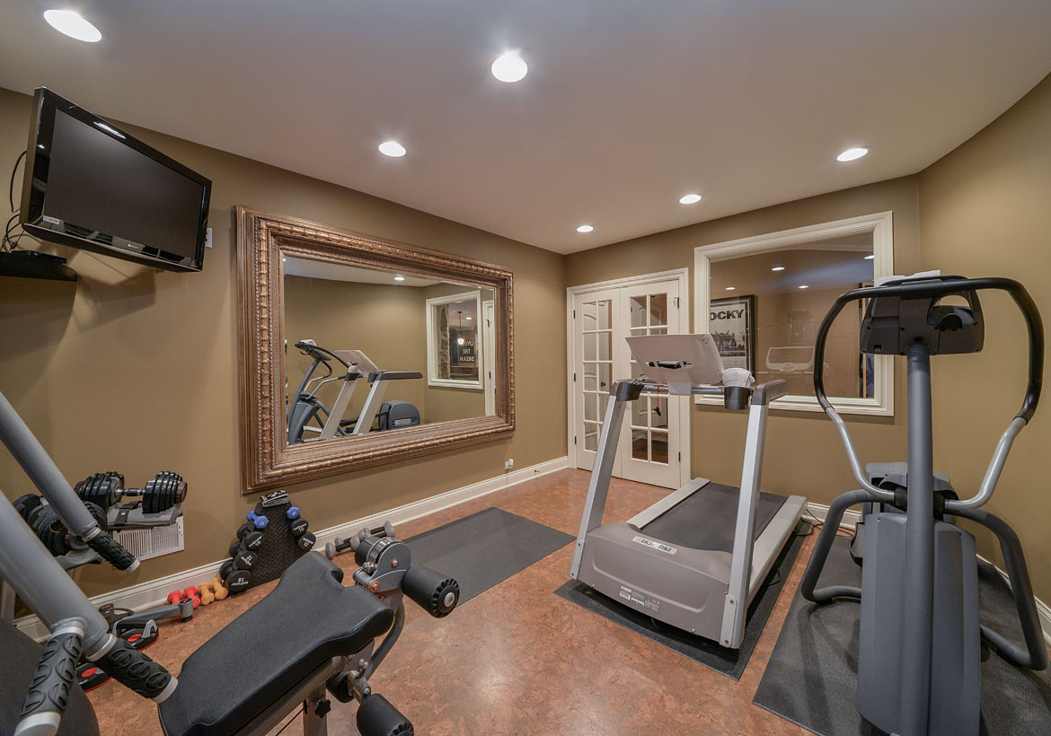 Extraordinary Home Gym Design Ideas   Sebring Design Build