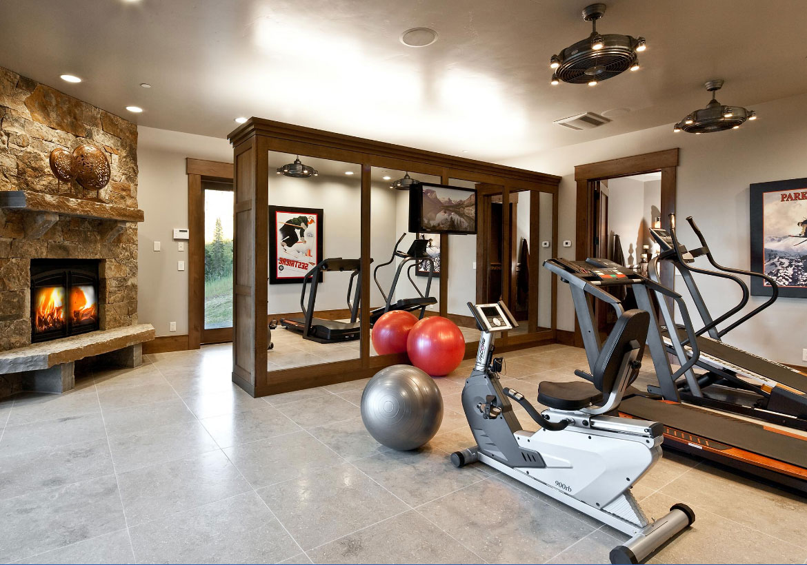 Beautiful Extraordinary Home Gym Design Ideas   Sebring Design Build